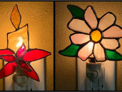 Stained Glass Night Light Class